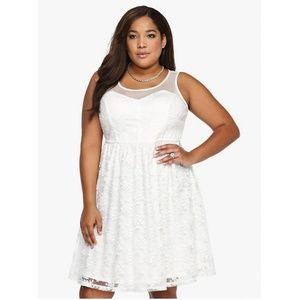 Torrid Lace Skater Dress.